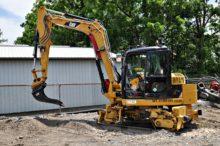 308 railroad excavator cribbing