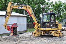 308 track dedicated excavator