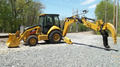 Railroad Backhoes | MacAllister Railroad Machinery