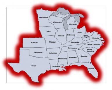 Gradall Map