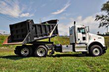 rail rotary dump truck